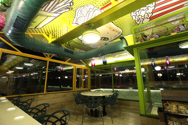 restaurant in vallabh vidyanagar - global falcon restaurant