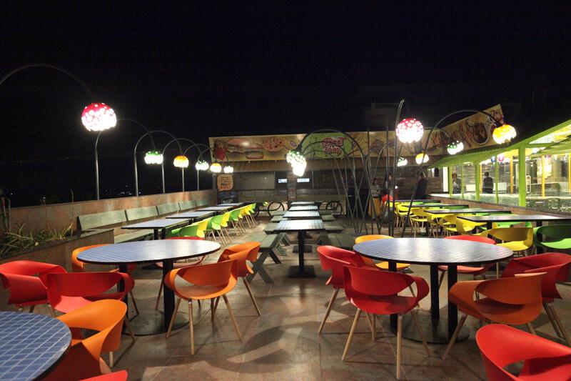 falcon street food - hummingbird hotel