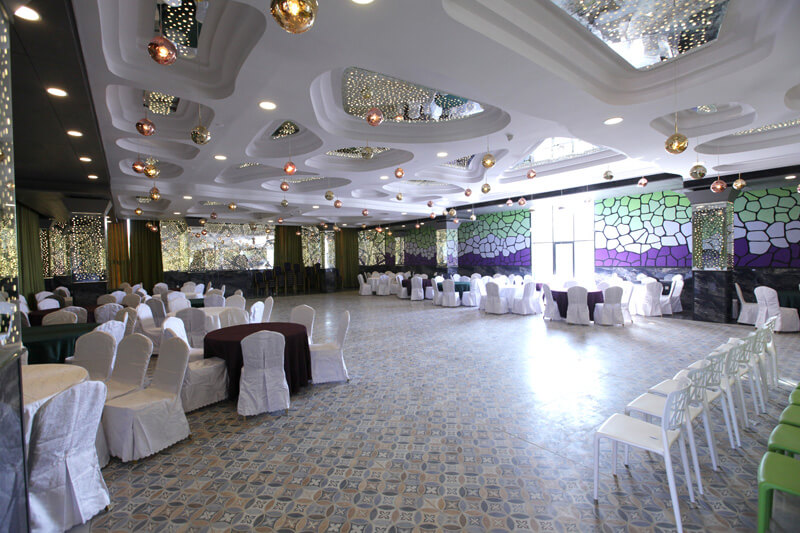 bulbul conference & banquet hall at Hummingbird hotel